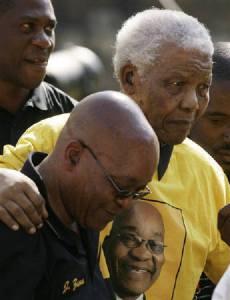 Mandela supported Zuma's campaign (Courtesy web7.bernama.com)