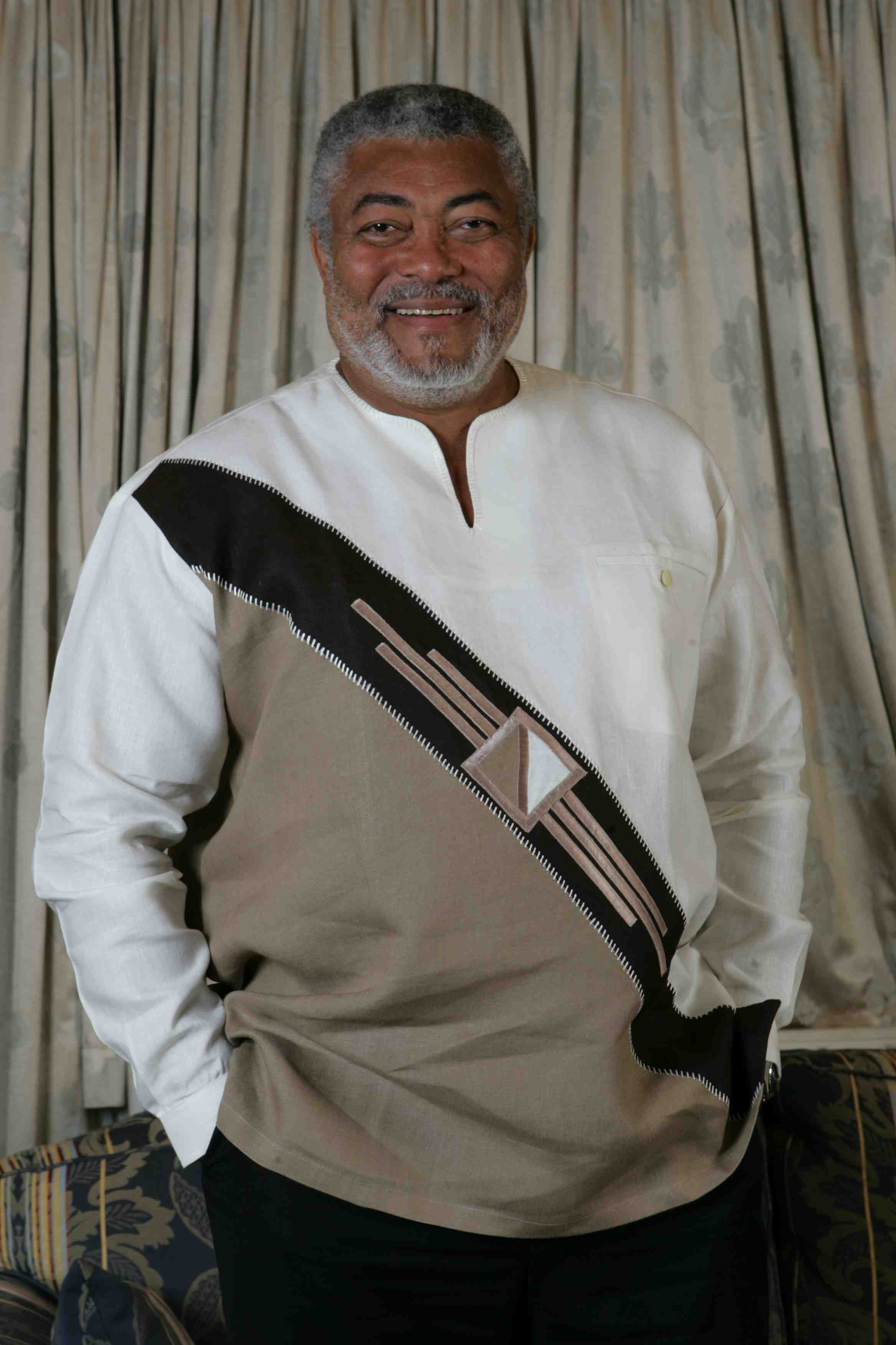Rawlings leads delegation to Zuma's inauguration | J.J ...