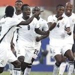 Ghana Black Stars. Courtesy GFA