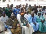 Sheik Nuhu Sharabutu and his Council during their call