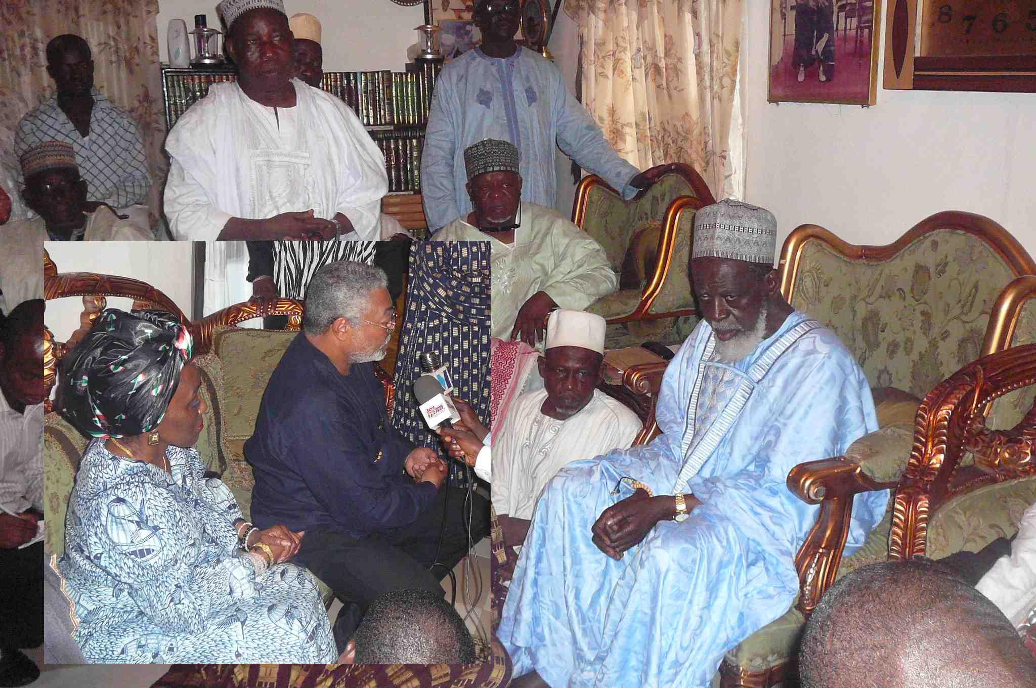 Rawlings Console National Chief Imam J J Rawlings