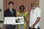 JJ Rawlings and China Ambassador