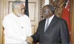 President Mwai Kibaki (Kenya) and President Jerry Rawlings (Ghana)