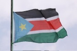 The South Sudan flag flies for the first time at the AU