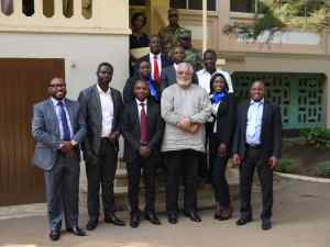 President Rawlings and the parties after the settlement meeting last Tuesday